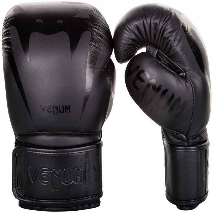 Venum Перчатки Боксёрские Giant 3.0 Чёрные/Чёрные