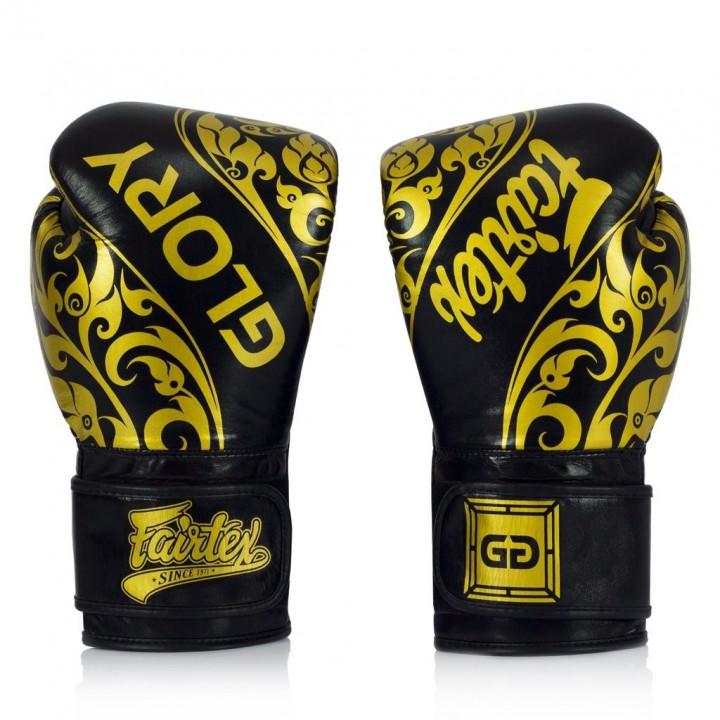 Fairtex Перчатки Боксёрские BGVG2 Чёрные