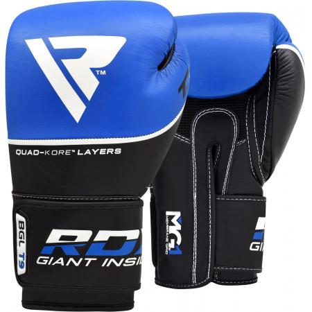 Перчатки боксерские RDX T9 синие