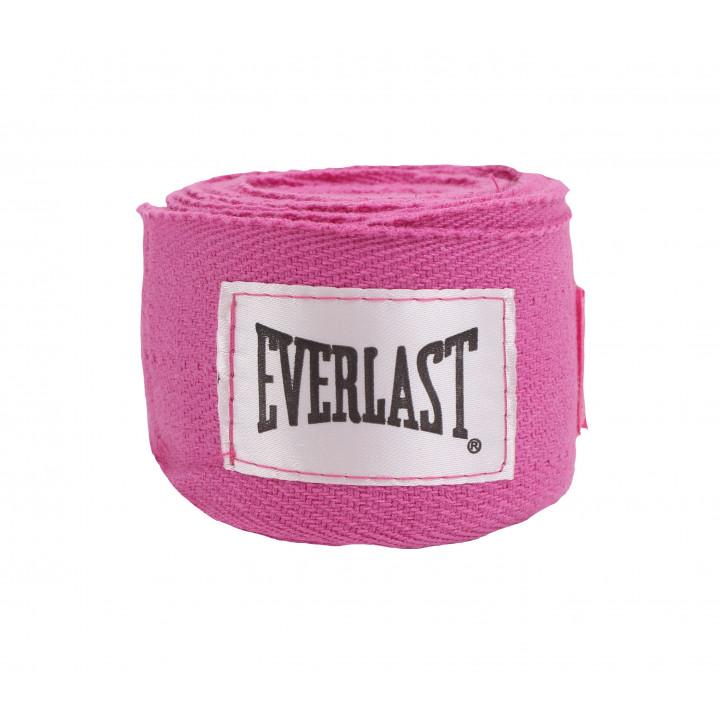 Бинты Боксёрские Everlast  3m Розовые