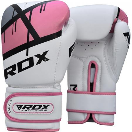 Перчатки боксерские RDX BGR-F7 розовые