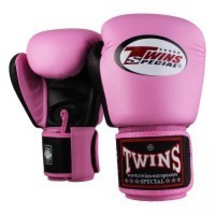 Twins Перчатки Боксёрские BGVL-3 Розовый/Чёрный