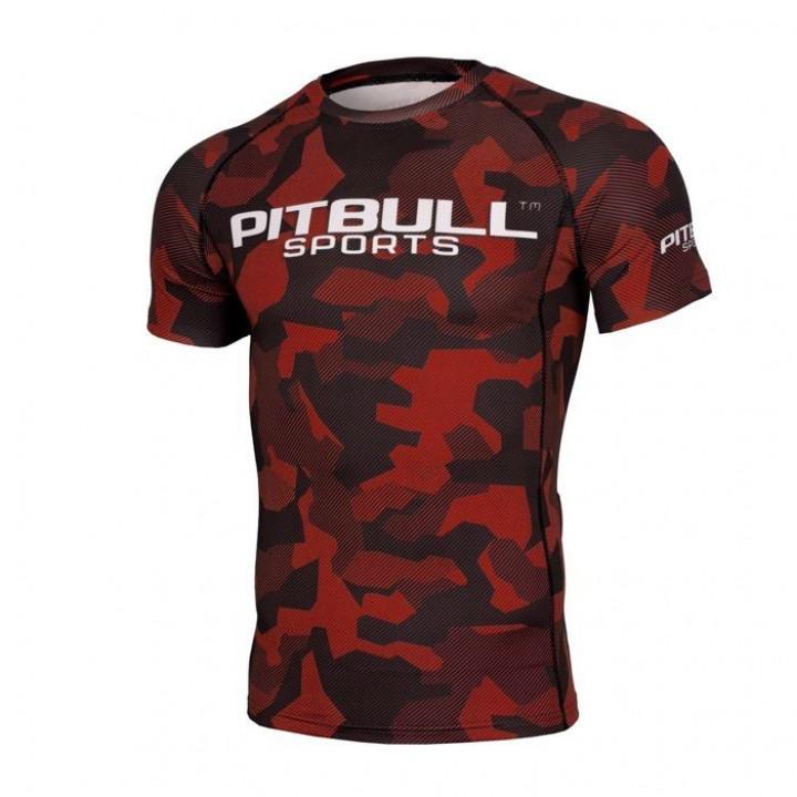 Pit Bull Рашгард с Коротким Рукавом Dillard Красный