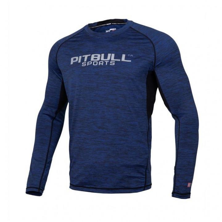 Pitbull Рашгард с Длинным Рукавом Performance Pro Plus Тёмно-Синий