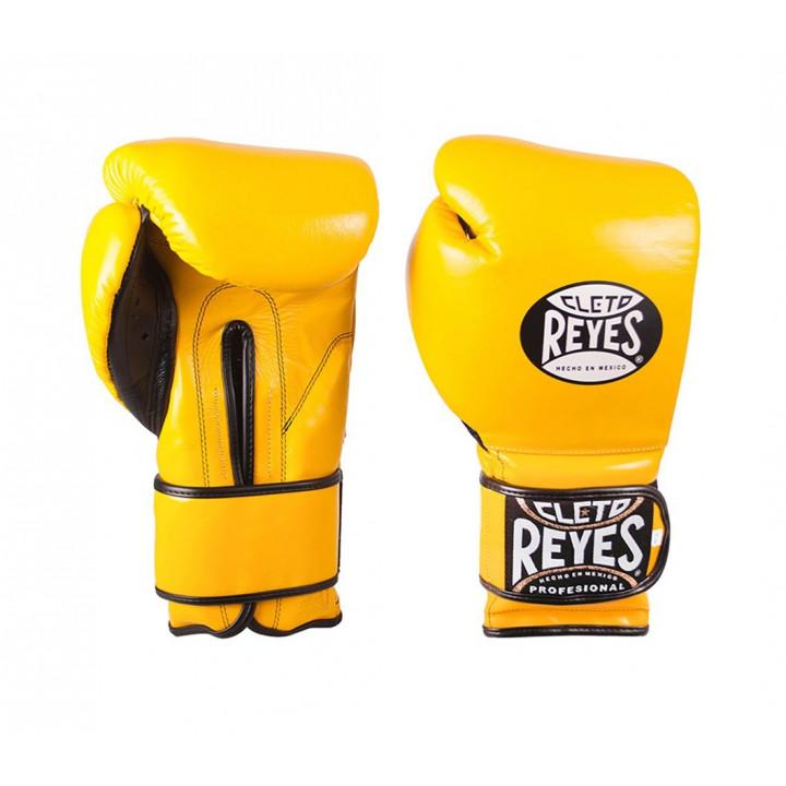 Перчатки боксерские Training от Cleto Reyes желтые