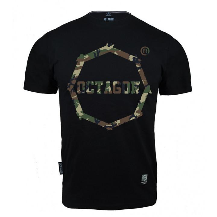 Octagon T-shirt Logo Camo