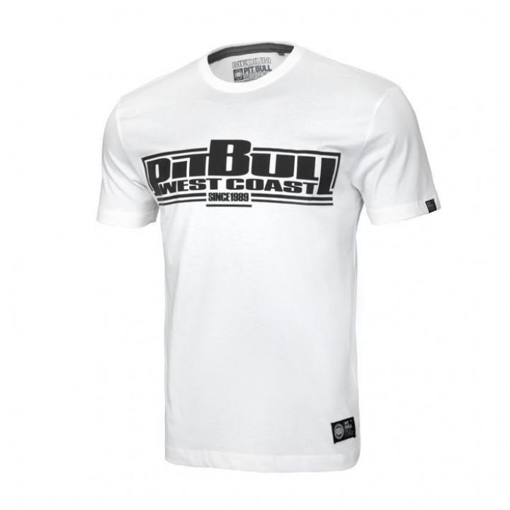 Pitbull T-shirt Classic Boxing 19 Белая