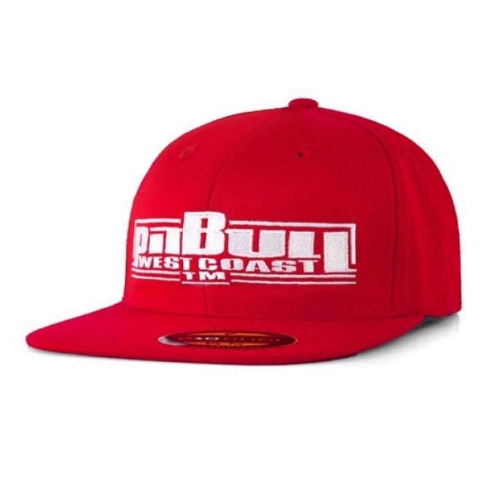 Pitbull  Full Cap Flat Boxing Красная