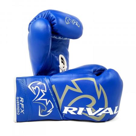 Перчатки Боксёрские Rival RFX-Guerrero Pro Fight HDE-F синие