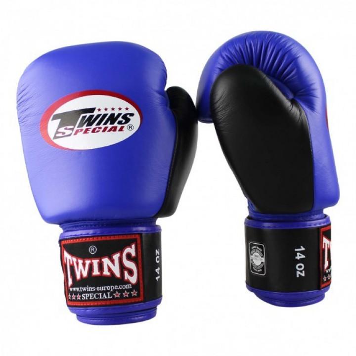 Twins Перчатки боксерские BGVL-3  Голубые/Черные