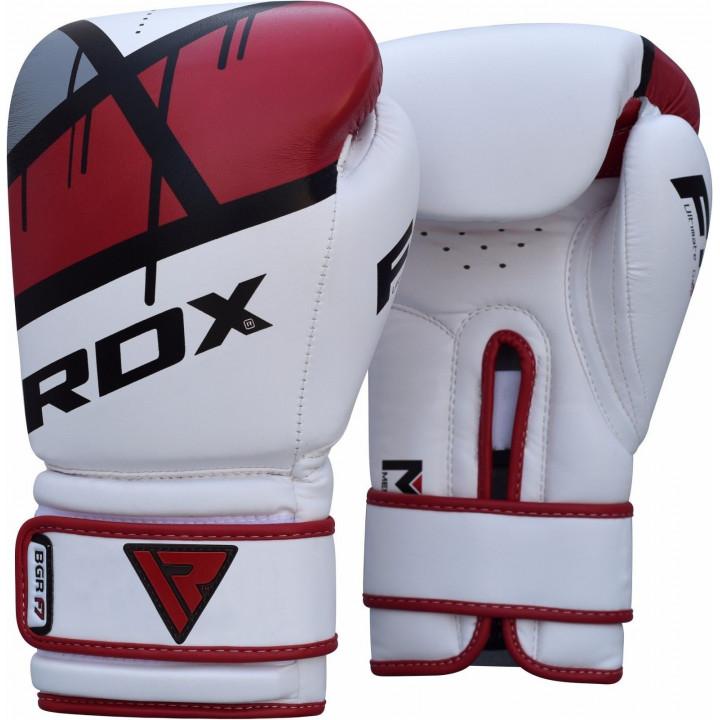 Перчатки боксерские RDX BGR-F7 красные