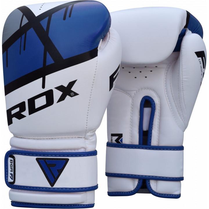 Перчатки боксерские RDX BGR-F7 Синие