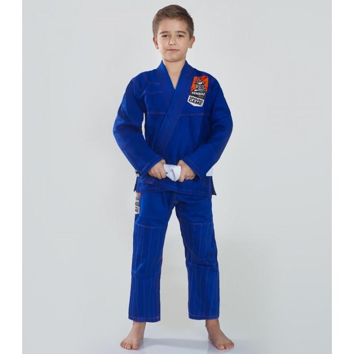 Детское кимоно/ Гидля BJJ Tensai Ground Game синее