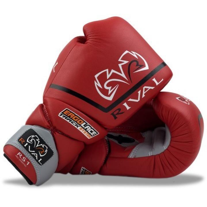 Rival Перчатки боксерские RS1 Pro Sparring Красные