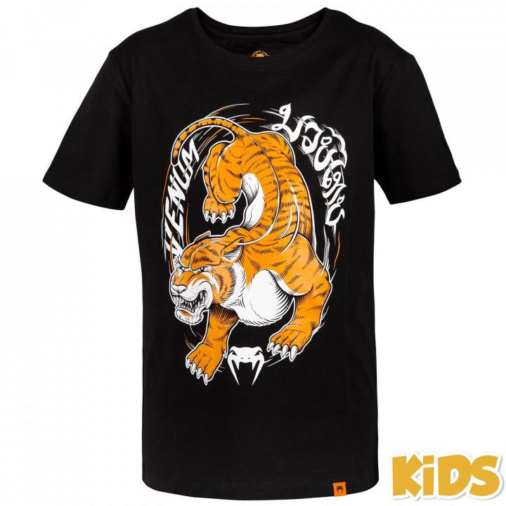 Venum T-Shirt Детская Tiger King Черная