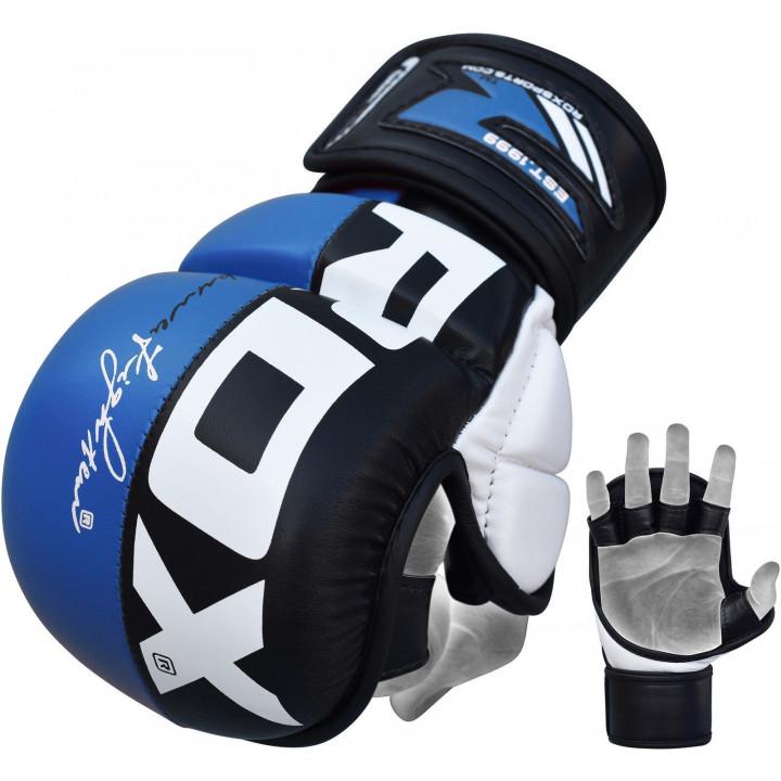 Перчатки для MMA RDX GGL-T6 синие