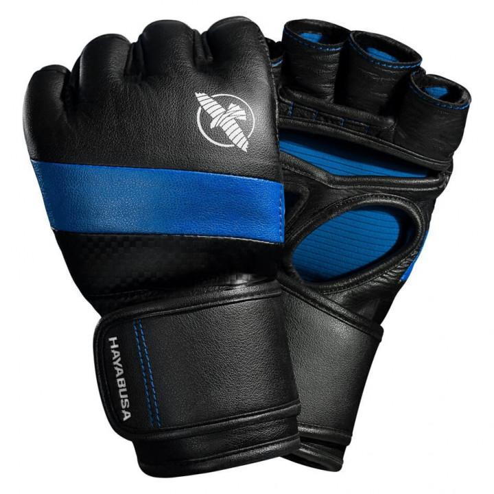 Перчатки для MMA Hayabusa T3 4oz черно-синие