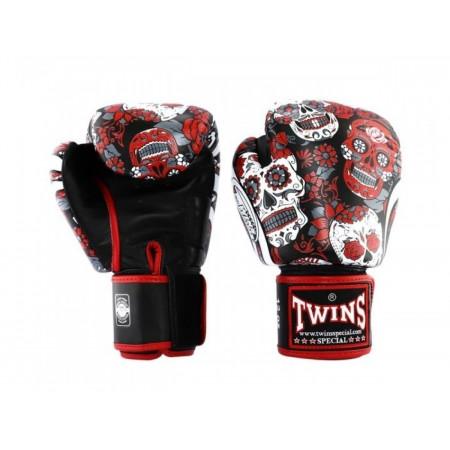 Twins Перчатки боксерские BGVL Fantasy 4 Skull