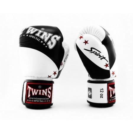 Twins Перчатки боксерские BGVL-10 Черно/Белые