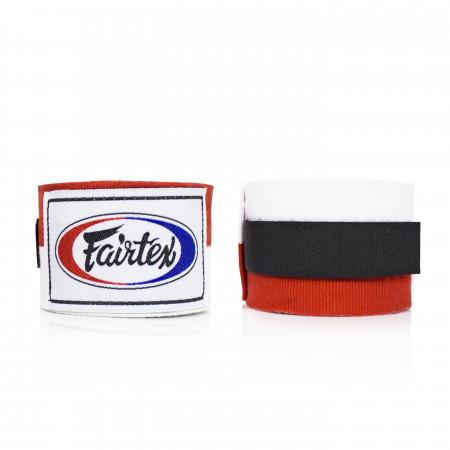 Бинты боксерские Fairtex HW2 Бело-красные