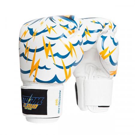StormCloud Перчатки для Muay Thai Blizzard Monstercloud Белые