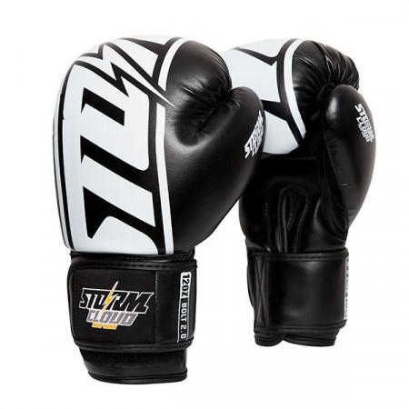 StormCloud Перчатки боксерские Bolt 2.0 Черное / Белые