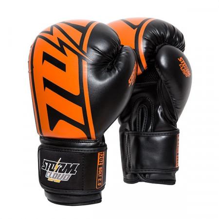StormCloud Перчатки боксерские Bolt 2.0 Черно / Оранжевые