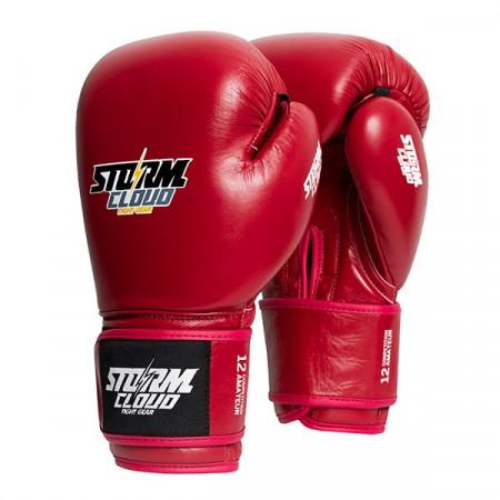 StormCloud Перчатки Боксерские Турнирные Competitor Красные