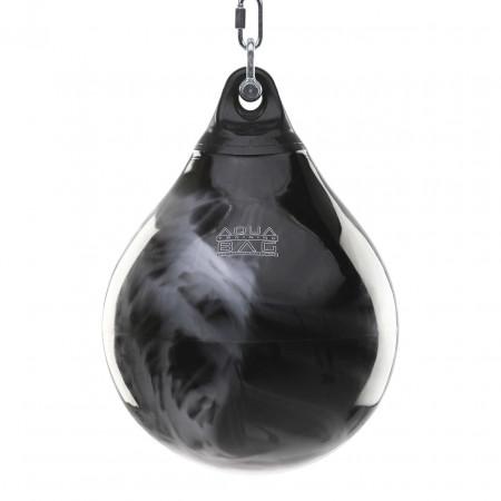 Тренировочная груша Aqua Training Bag 54,5kg черно-серебряная