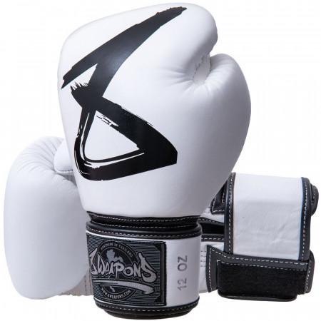 Перчатки боксерские 8 Weapons BIG 8 белые