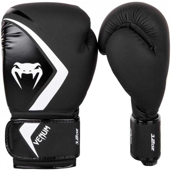 Venum Перчатки боксерские Contender 2.0 Черно/Белые