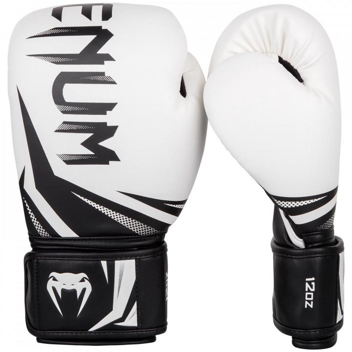 Venum Перчатки боксерские Challenger 3.0 Бело/Черные