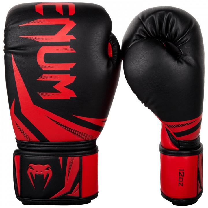 Venum Перчатки боксерские Challenger 3.0 Черно/Красные