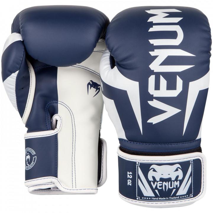 Venum Перчатки боксерские Elite Бело/Синие