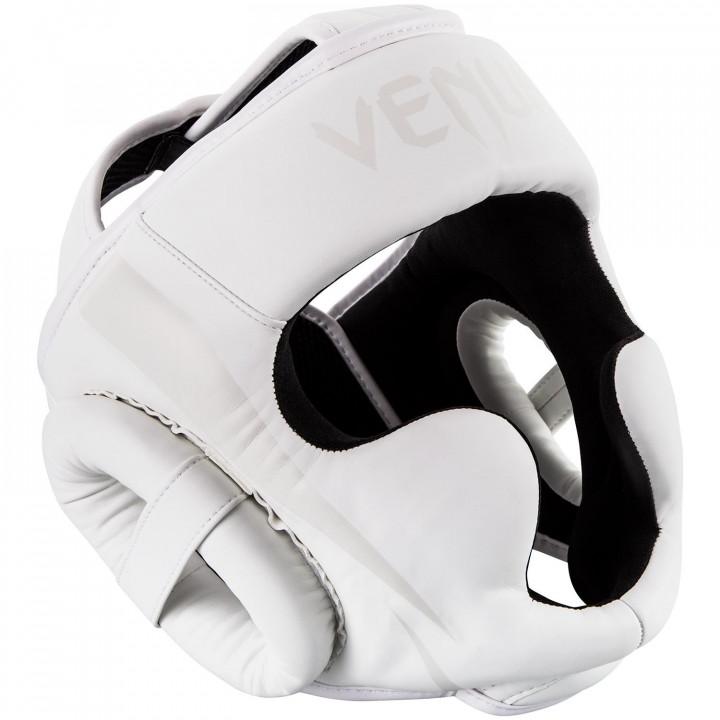 Venum Шлем боксерский  Elite Белый