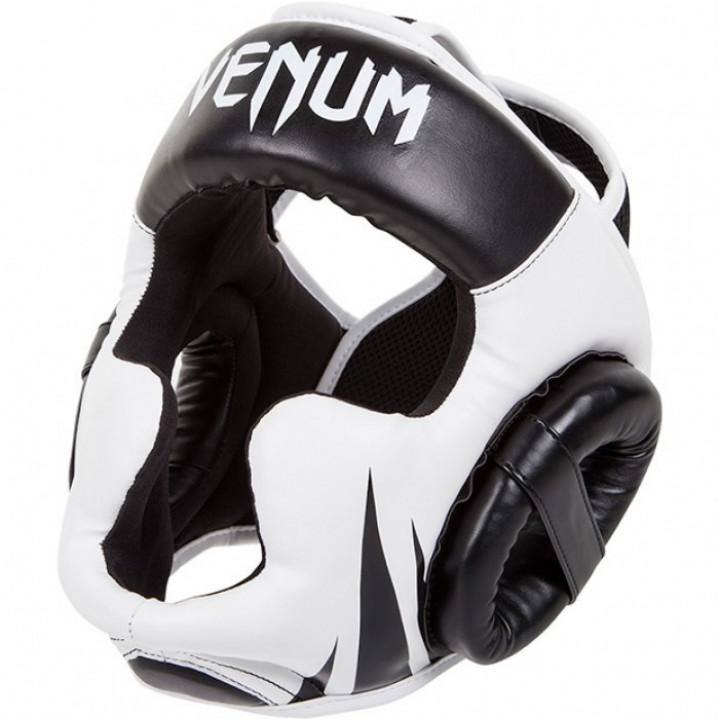 Venum Шлем Боксерский для спаррингов Challenger Черно/Белый