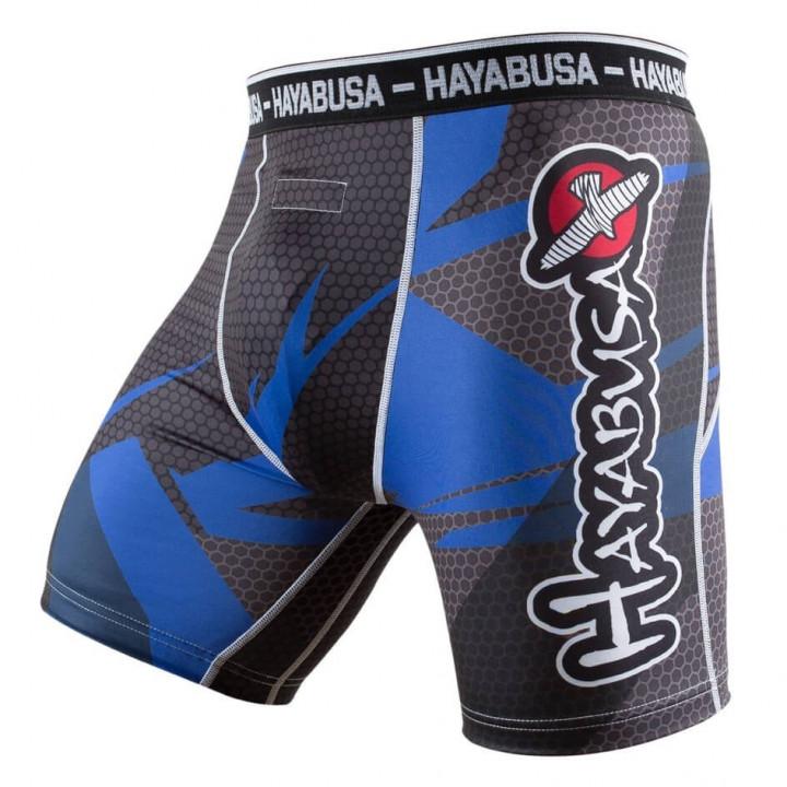 Компрессионные шорты Hayabusa Metaru синие