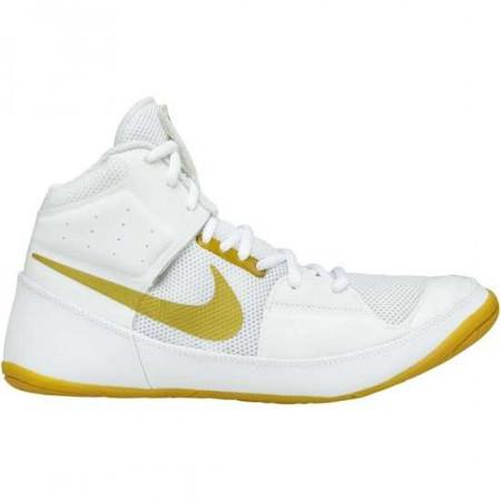 Nike Борцовки Fury Бело/Золотые