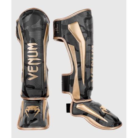 Venum Защита Голени Elite Camo/Золотые