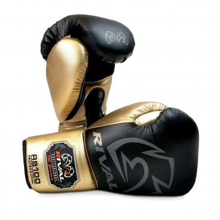 Rival Перчатки боксерские для спарринга RS100 Черные