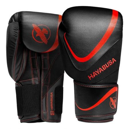 Hayabusa Перчатки боксерские H5 Черно/Красные
