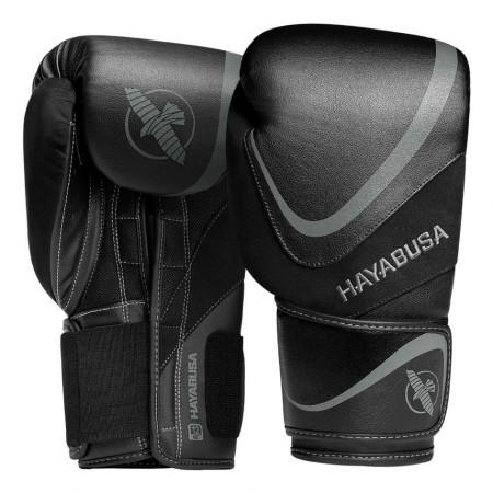 Hayabusa Перчатки боксерские H5 Черно/Серые