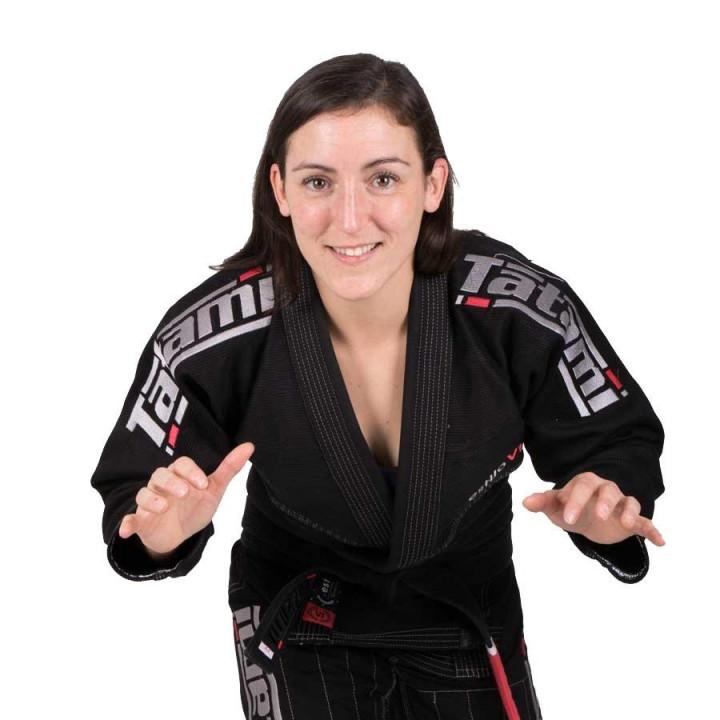 Tatami Kimono/Gi Женское Estilo 6.0 Черно-графитовый