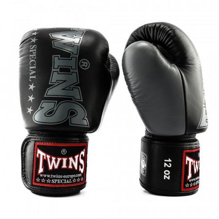 Twins Перчатки боксерские BGVL-8 Черно/Серые