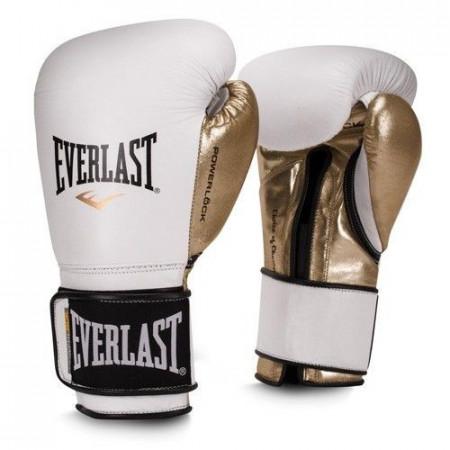 Everlast Перчатки боксерские Powerlock PU Бело/Золотые