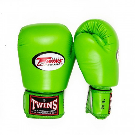 Twins Перчатки боксерские BGVL-3 Lime