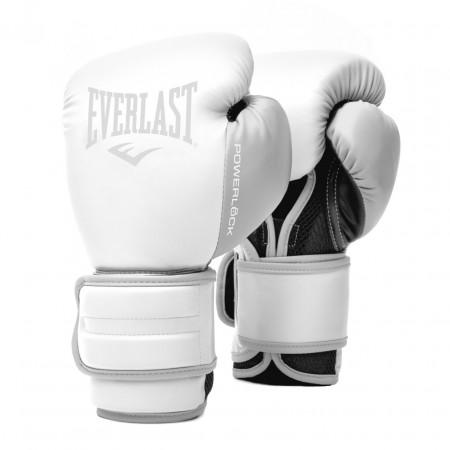 Everlast Перчатки боксерские Powerlock PU Бело/Серые