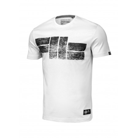 Pitbull T-shirt Classic Logo 21 Biały