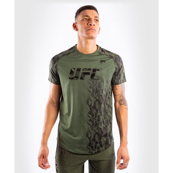 Venum UFC Футболка Тренировочная Authentic Fight Week Khaki