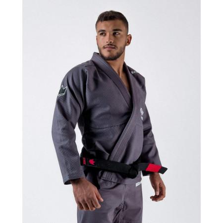 KiNGZ Kimono/Gi BJJ Relentless Grey